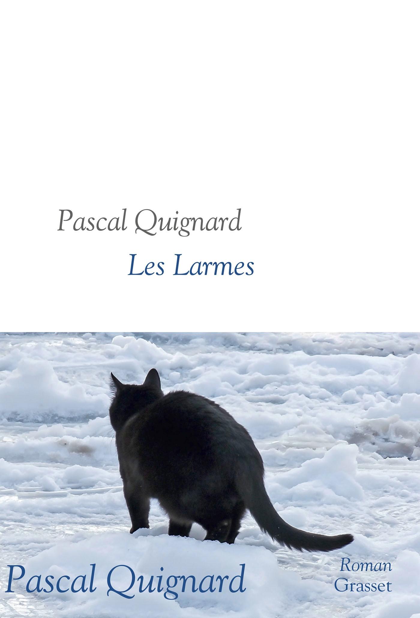 Critique Avis Les Larmes De Pascal Quignard Livres Bd