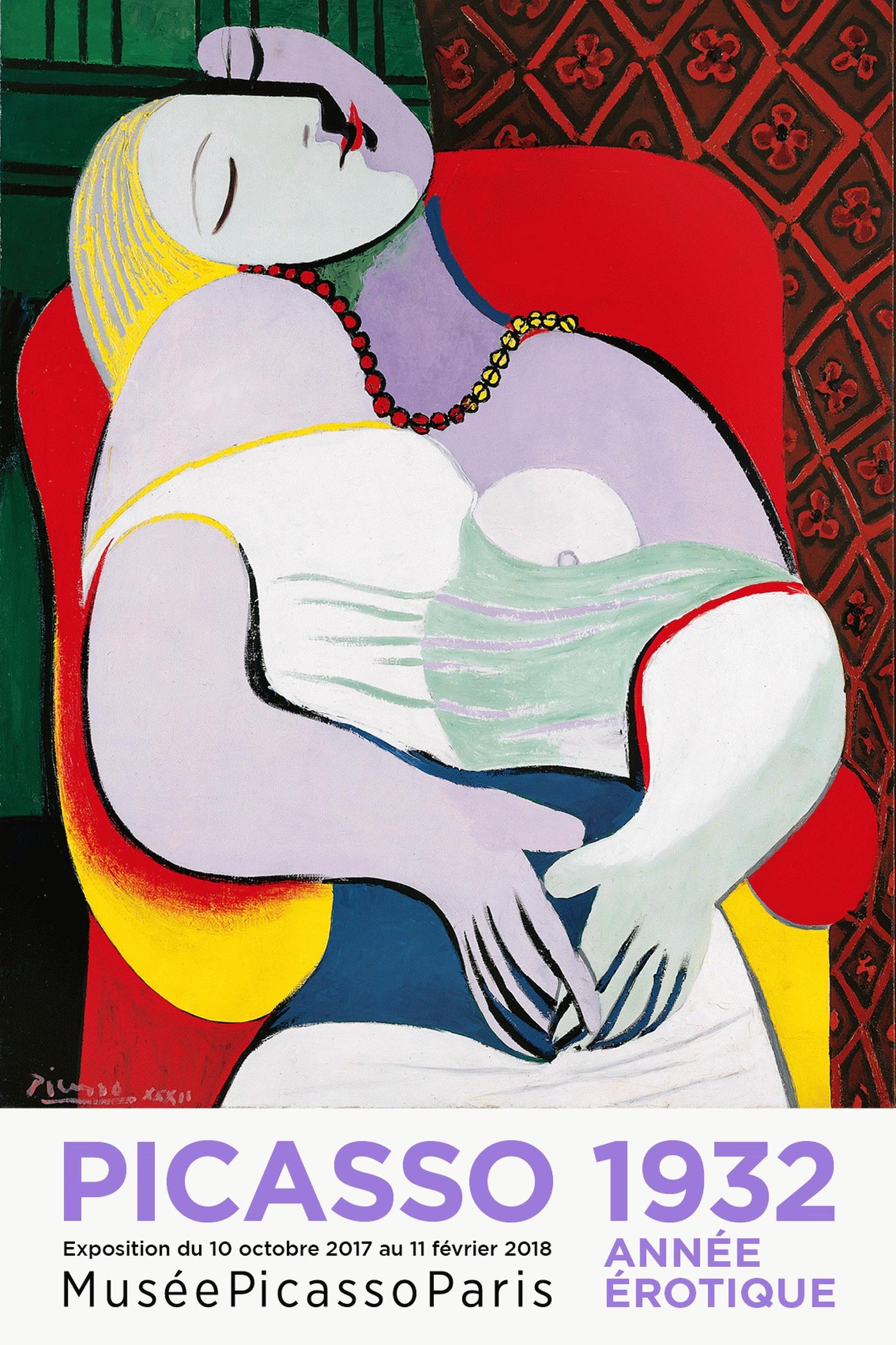 Sexualité...... - Page 10 Picasso_1932_affiche_40x60
